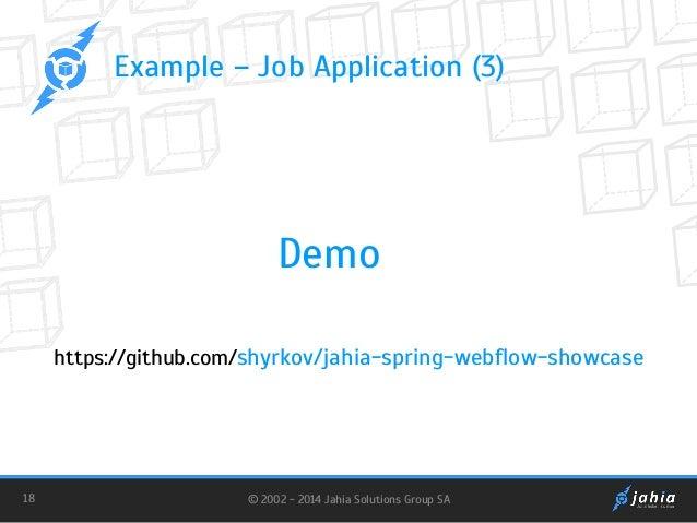 JahiaOne - MVC in Jahia 7 Using Spring Web Flow