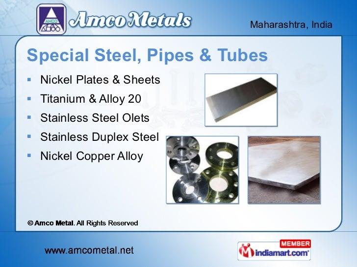 Steel sheets by amco metal mumbai