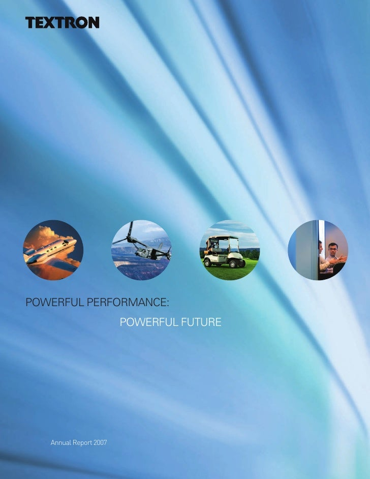 textron annual report_2007