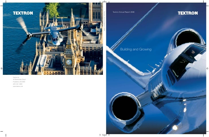 textron annual report 2006