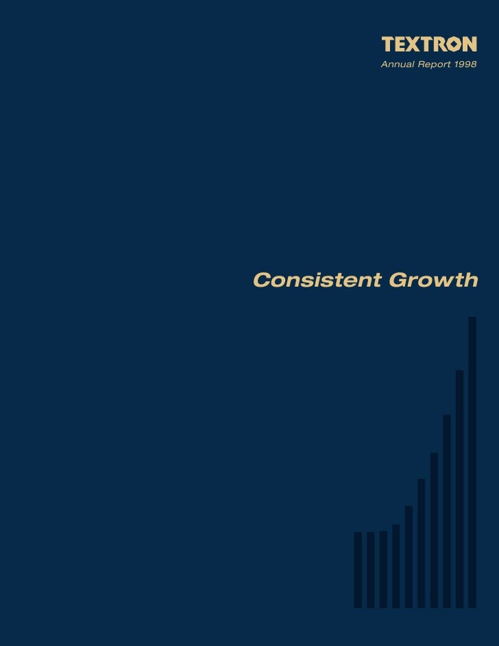 Annual Report 1998     Consistent Growth