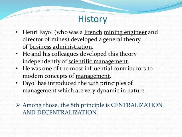 history of henry fayol