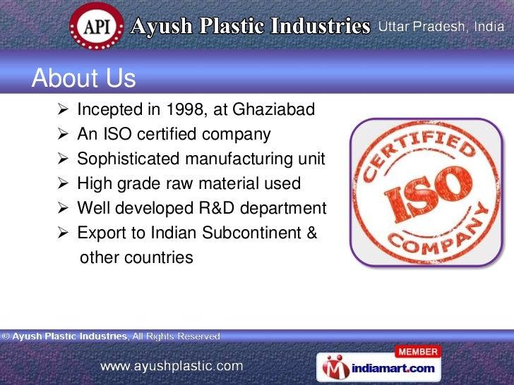 Plastic Moulding Machines by Ayush Plastic Industries Ghaziabad  Slide 2