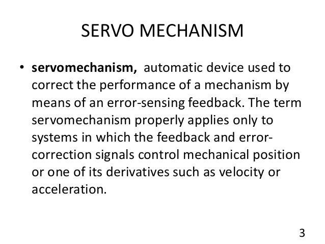skeletal servomechanism,