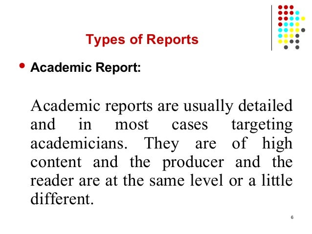 How to Write an Academic Report