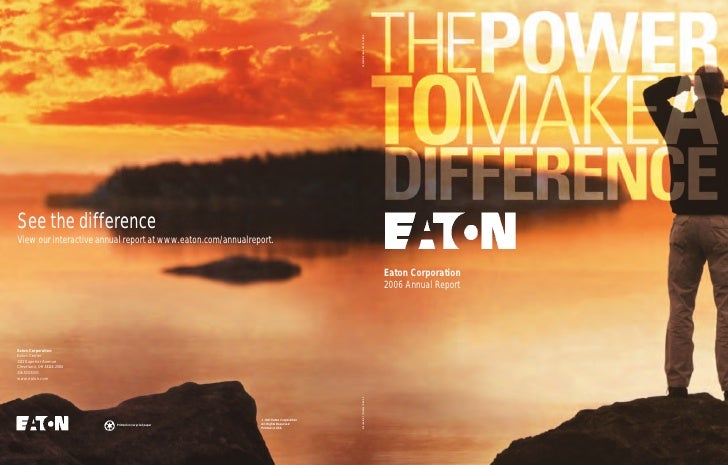 Eaton Corporation 2006 Annual Report