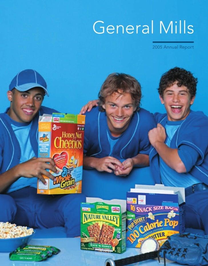 General Mills        2005 Annual Report