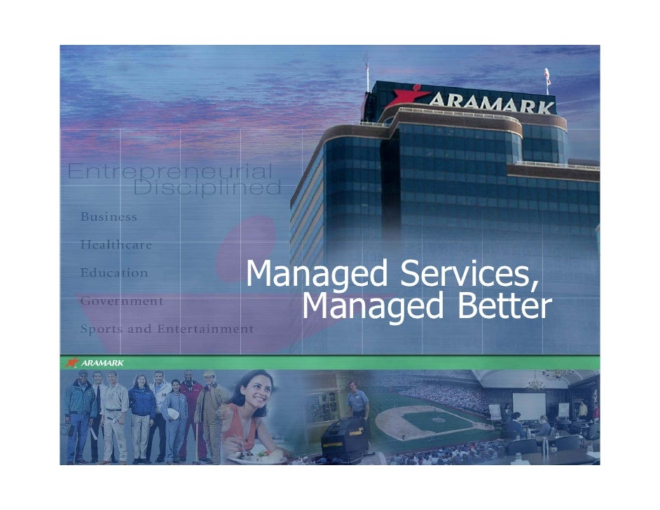 Managed Services,   Managed Better      1
