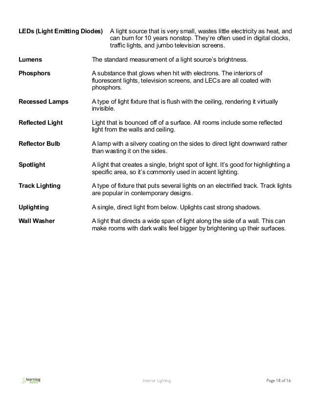 Interior Lighting Guide - Interior Lighting Bringing Rooms To Life