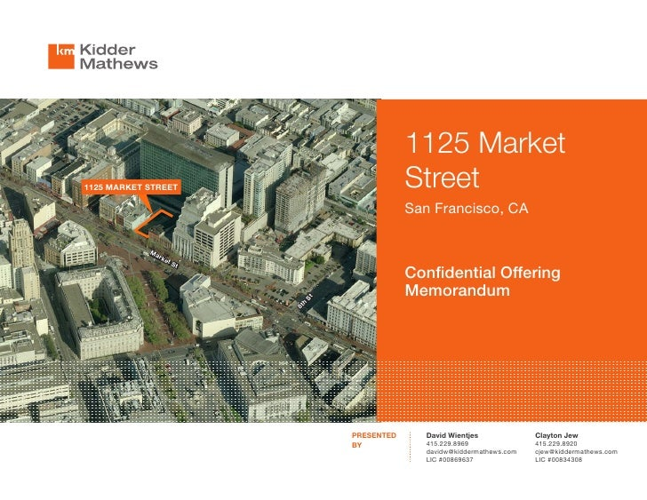 1125 Market1125 MARKET STREET                        Street                                          San Francisco, CA    ...