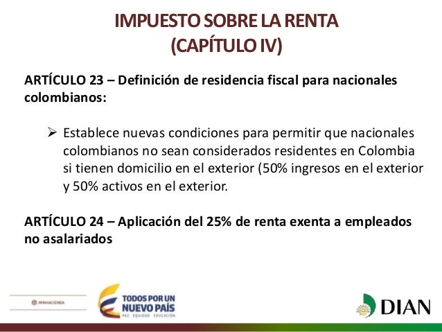 Ponencia Para Primer Debate Del Proyecto De Ley De Reforma Tributaria