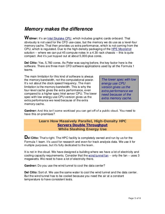 Page 5 of 8 Memory makes the difference Widmer: It's an Intel Skylake CPU, which includes graphic cards onboard. That obvi...