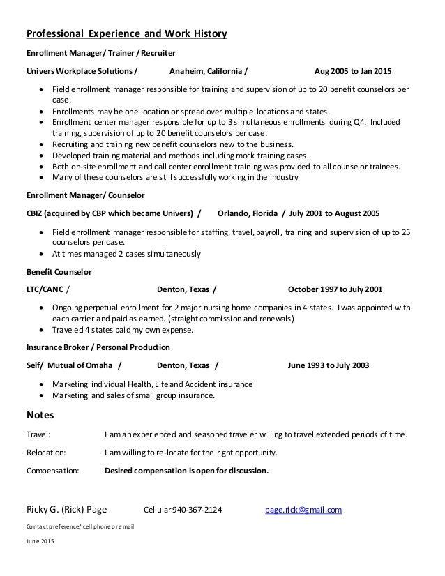 Unique Enrollment Management Resume Pictures - Resume Ideas - bayaar ...