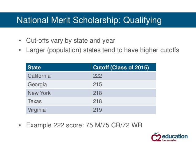 National Merit Scholarships And The New Psat