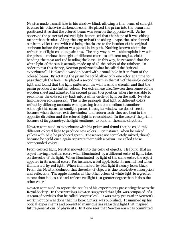 essay report format