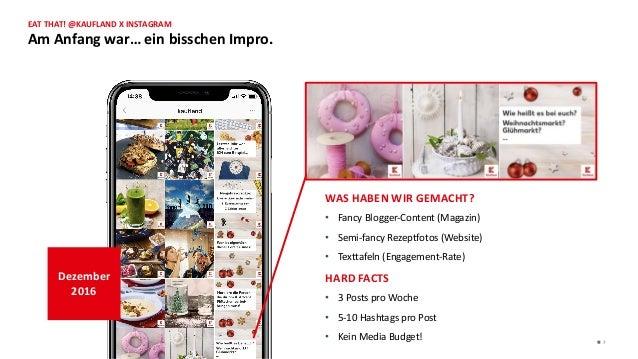 WAS HABEN WIR GEMACHT? • Fancy Blogger-Content (Magazin) • Semi-fancy Rezeptfotos (Website) • Texttafeln (Engagement-Rate)...