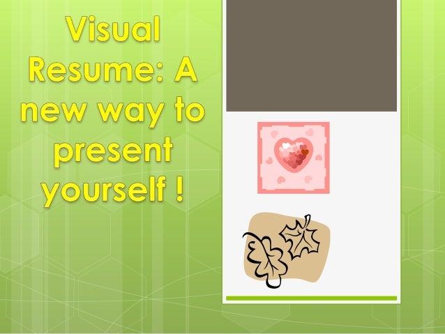 visual resumes