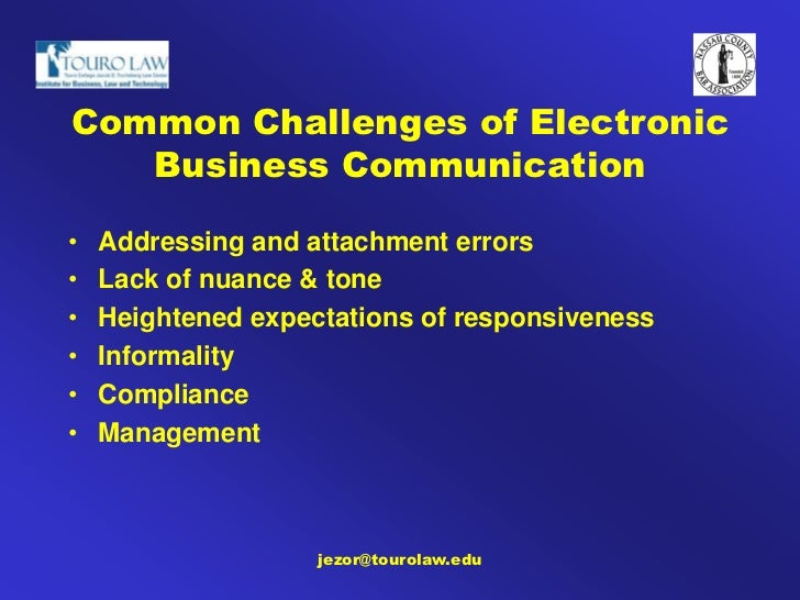 effect of electronic communication on interpersonal How social media affects interpersonal communication  published on august 20, 2015  you can still interact with friends and family through the use of electronic devices social media becomes.