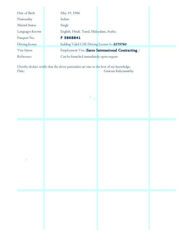 ganesan resume