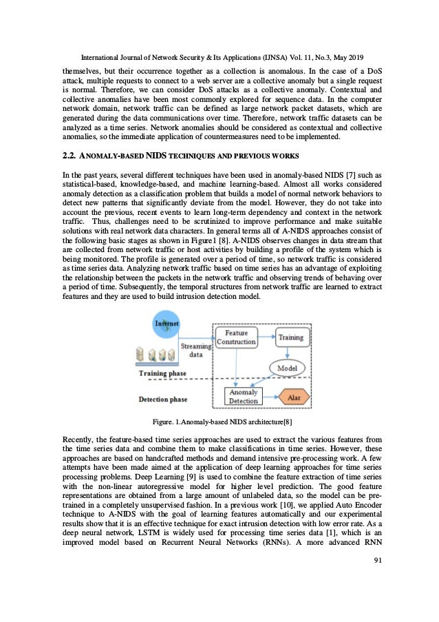 International Journal of Network Security & Its Applications (IJNSA) Vol. 11, No.3, May 2019 91 themselves, but their occu...
