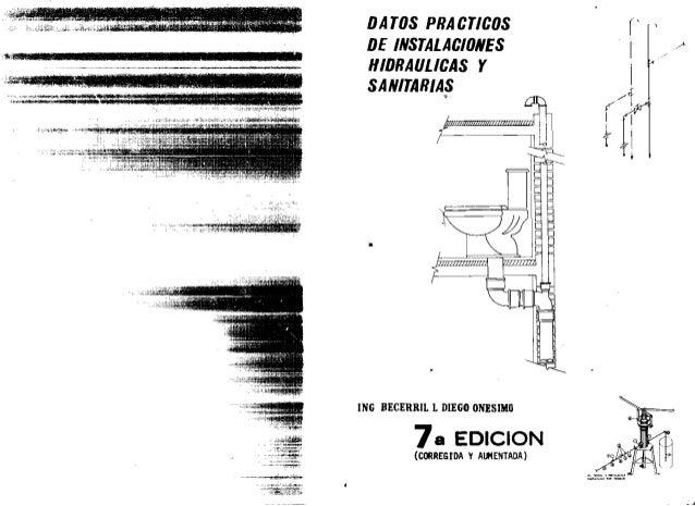 ONESIMO BECERRIL INSTALACIONES HIDRAULICAS PDF