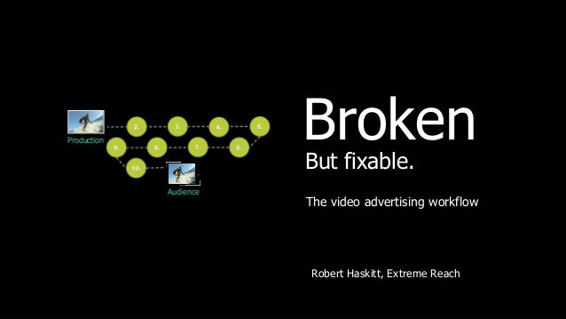 Production              Broken                        But fixable.             Audience                        The video a...