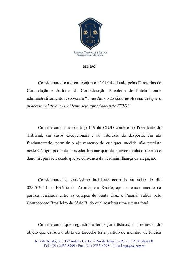 Rua da Ajuda, 35 / 15o andar - Centro - Rio de Janeiro - RJ - CEP: 20040-000 Tel.: (21) 2532.8709 / Fax: (21) 2533-4798 - ...