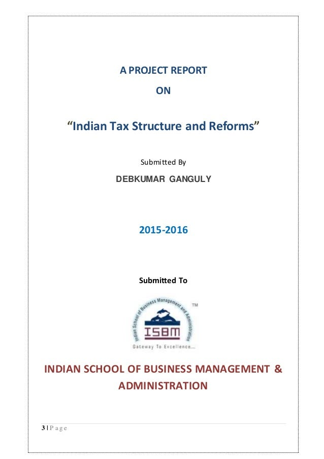Taxation Projects