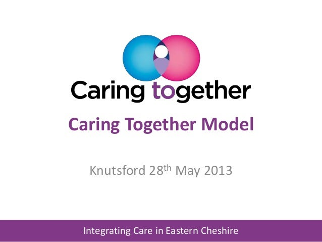 Integrating Care in Eastern Cheshire Caring Together Model Knutsford 28th May 2013