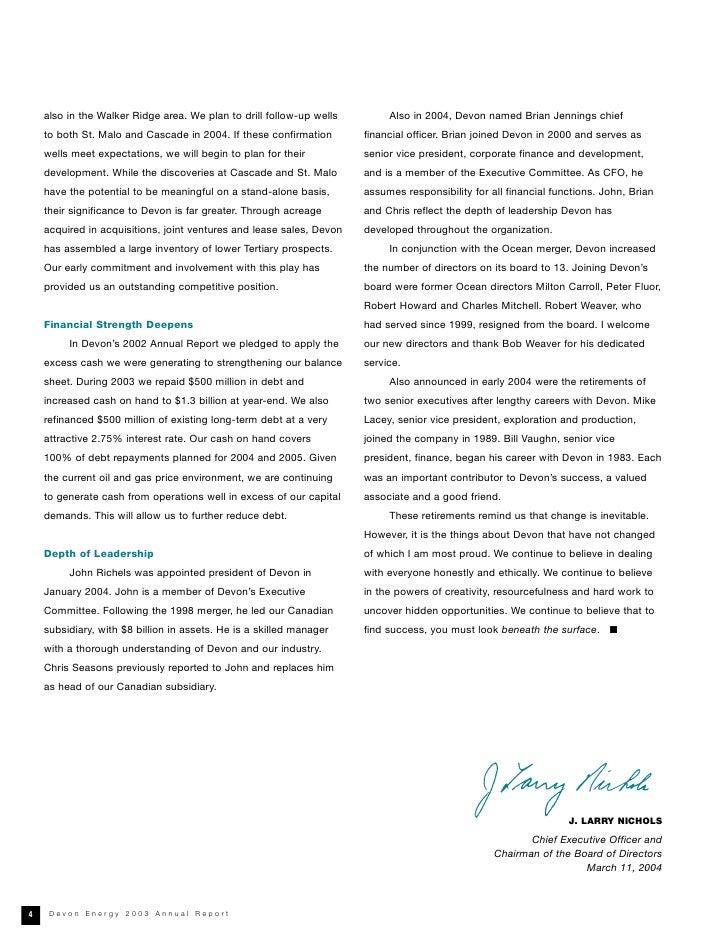Luxury Devon Energy Resume Composition - Administrative Officer ...