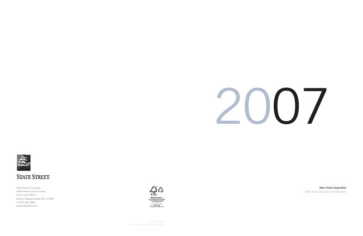 2007               State Street Corporation    2007 Annual Report to Shareholders