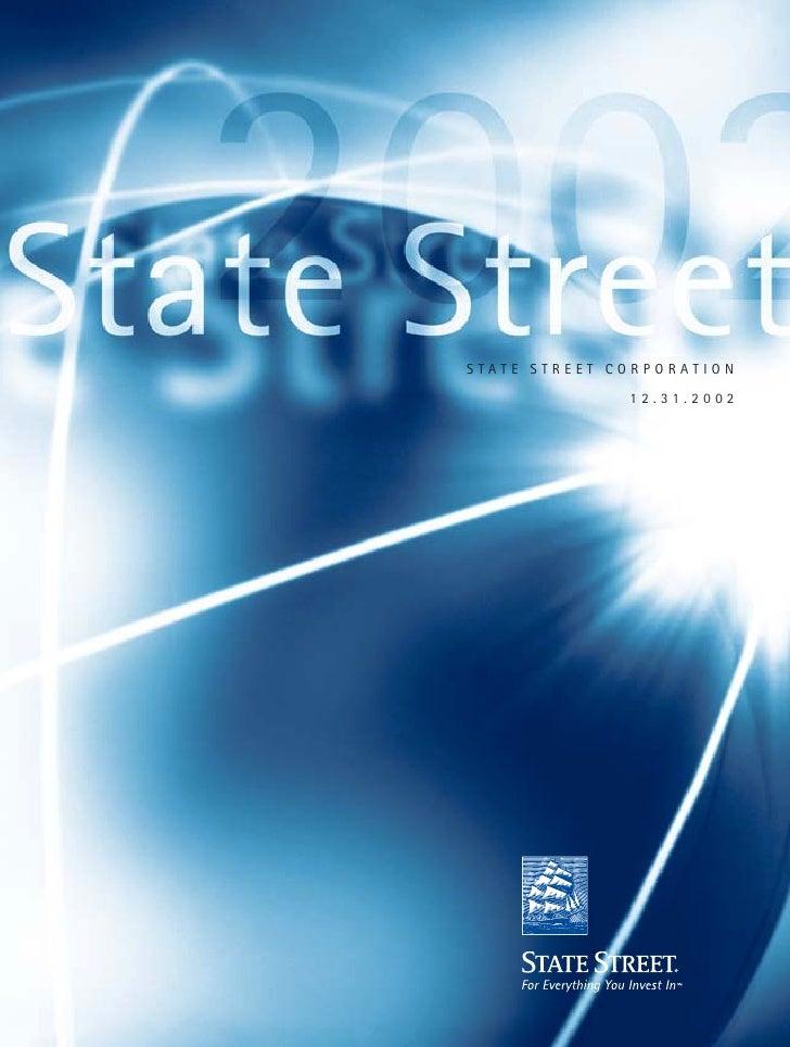 STATE STREET CORPORATION                12.31.2002