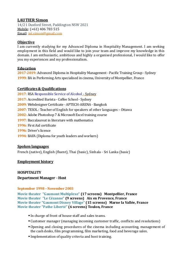 Resume 02 2017