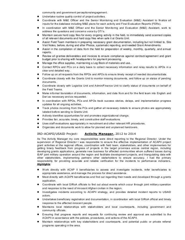 Saraj Hameed CV and Cover Letter,.