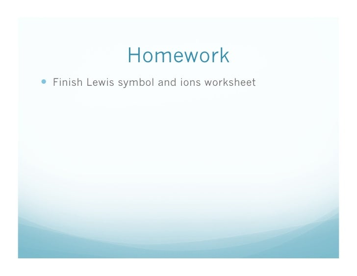 113 What are Lewis structures – Lewis Structure Worksheet
