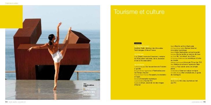 Tourisme et culture                                                      Tourisme et culture                              ...