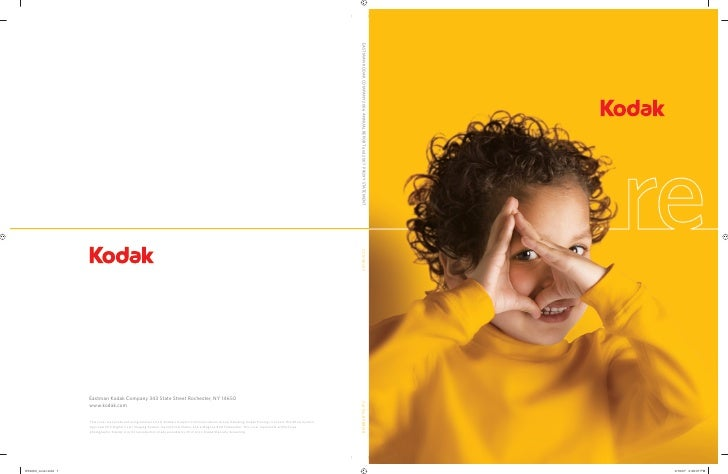 ew.   reconnect. reimagine. redesign. recharge.      Dear Fellow Investors:   In 2006, a new Kodak began to emerge.    For...