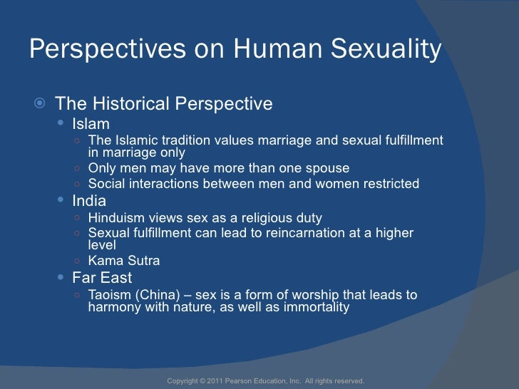 Historical perspectives on sexuality