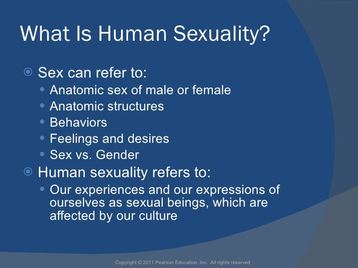What Is Human Sexuality