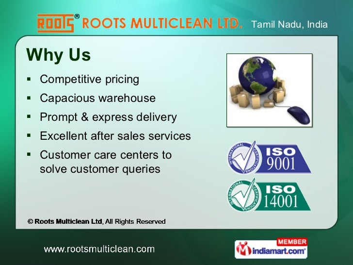 Vacuum Cleaners By Roots Multiclean Ltd Coimbatore