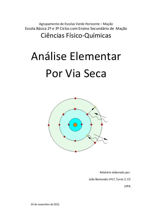 Agrupamento de Escolas Verde Horizonte – Mação Escola Básica 2º e 3º Ciclos com Ensino Secundário de Mação Ciências Físico...