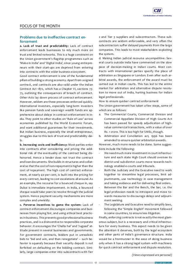 ECONOMY MATTERS 20 FOCUS OF THE MONTH (Views expressed are personal) Finally, Indian Customs has been taking the lead in t...