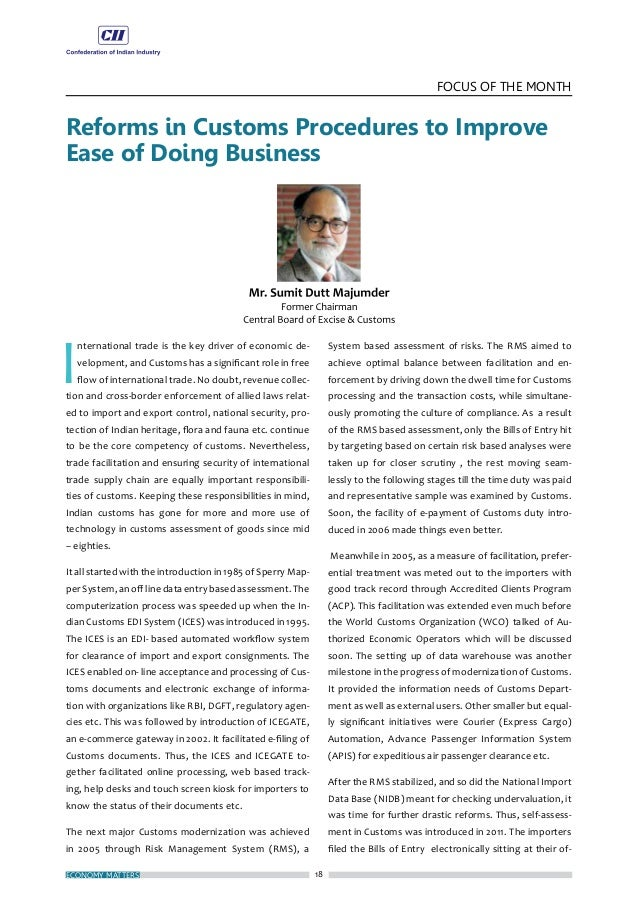21 FOCUS OF THE MONTH NOVEMBER 2016 Book Review: India the Business Opportunity by Dr. Linda Spedding, Eastern Book Compan...