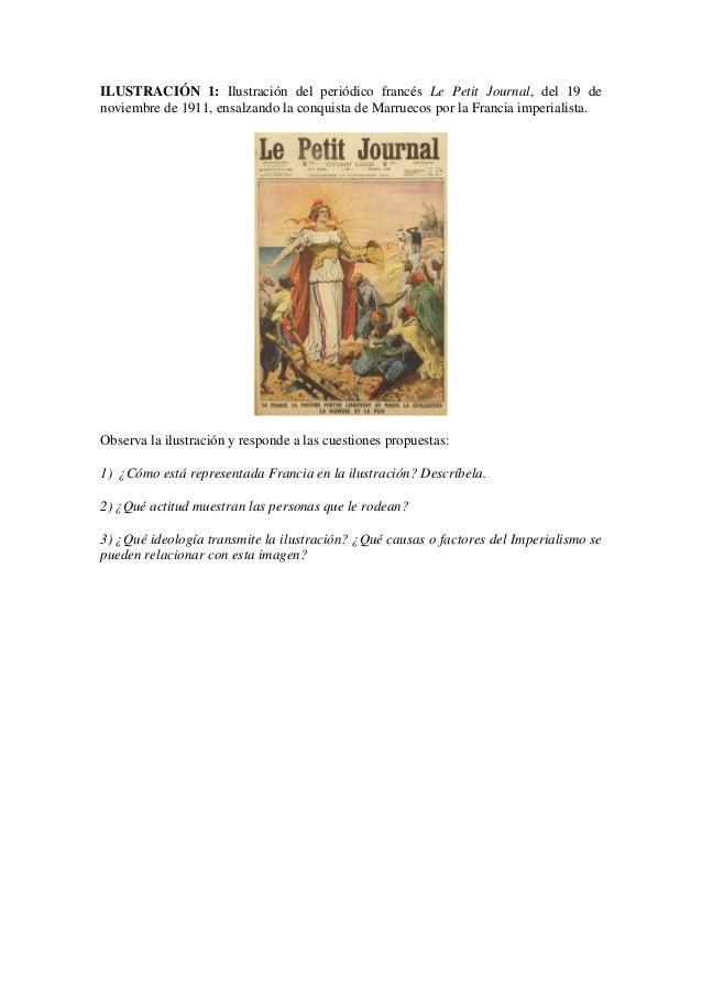 ILUSTRACIÓN 1: Ilustración del periódico francés Le Petit Journal, del 19 de noviembre de 1911, ensalzando la conquista de...