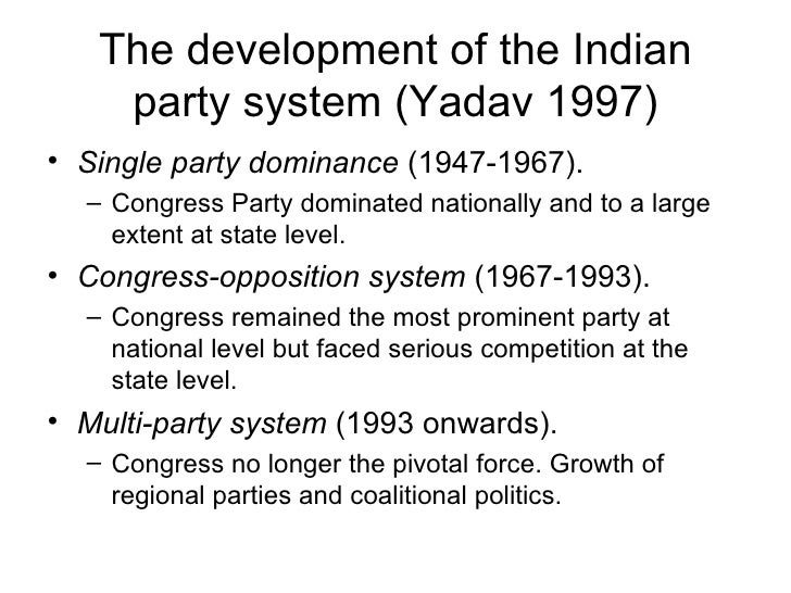 abolishing multi party democratic system of india So to answer the question: in a two-party system as is evident in india, the multi-party system libertarians are the best friends of the democratic party.