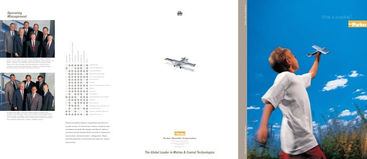 Parker Hannifin Corporation   2002 Annual Report                                       What is possible?