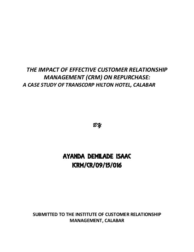 the influence of customer relationship in Learn how strong customer relationships are built and what are the business relationship factors accociated crm implementation for business success.