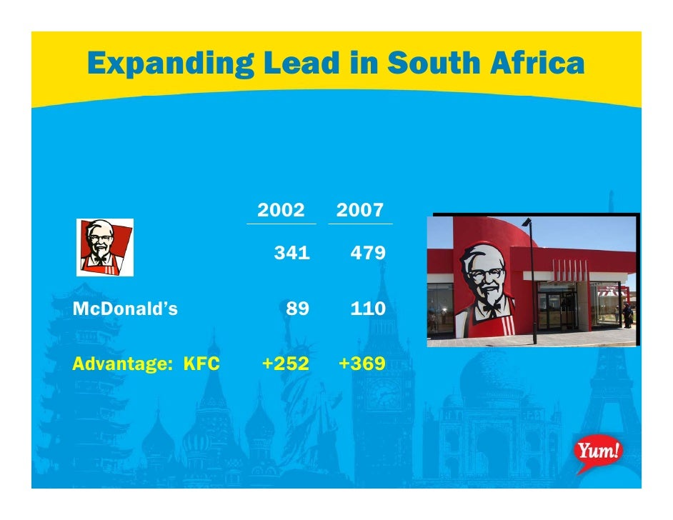 yum brands competitive positioning Brands also maintain a leadership position within its product segment yum brands also have a fix cost that could be weaknesses and/or competitive.