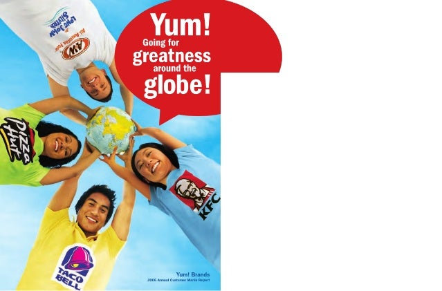 yum brands annual reports 2006