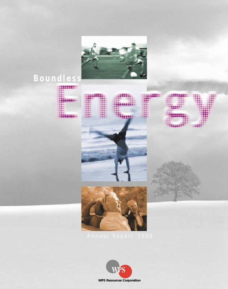 Boundless                 Annual Report 2000                    WPS Resources Corporation
